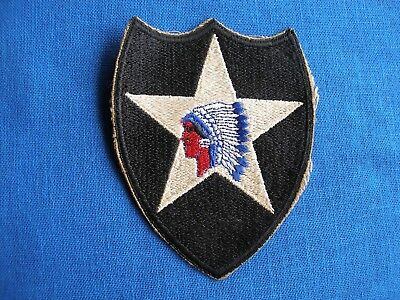 Original WWII 2nd Division Patch