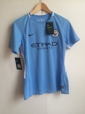 Manchester City Nike 2017/18 Cup Home Women's Kit - Medium - Campbell - New