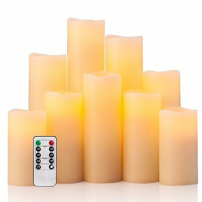 Flameless Candles Battery Operated Candles With Remote Control Timer