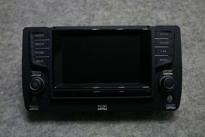 Original VW Golf 7 Composition Media Radio 5G0919605 Display Touch Infotainment