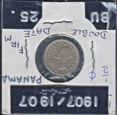 Mint Lustre Gvf Products Are Sold Without Limitations Coins 1907 Panama Medio Centesimo Coin Km#6