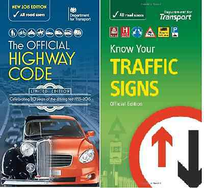 THE OFFICIAL HIGHWAY CODE & KNOW YOUR TRAFFIC SIGNS PACK NEW Fast Post