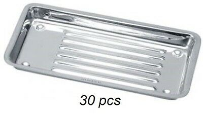 Hospital Stainless Steel Dental Holloware Surgical Instrument Trays 30 Pcs
