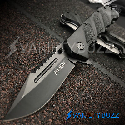 TAC-FORCE SPRING ASSISTED POCKET KNIFE Tactical Open Folding Blade MILITARY NEW