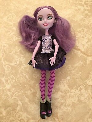 """Monster High 11"""" Doll EVER AFTER KITTY CHESHIRE CAT FIRST CHAPTER"""