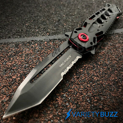 BLACK TANTO SPRING ASSISTED POCKET KNIFE Tactical Open Folding Claw Blade NEW
