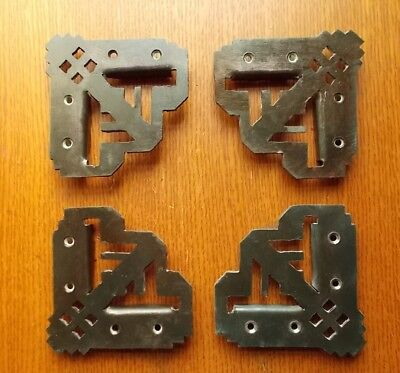 Four New Craftsman Eastlake Hand-Crafted Screen Door Corners or Brackets