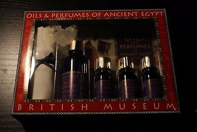 Oils & Perfumes of Ancient Egypt British Museum Boxed Set