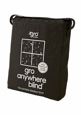 The Gro Company Anywhere Blackout Blind Adapts To Fit Any Window to Max 130x198