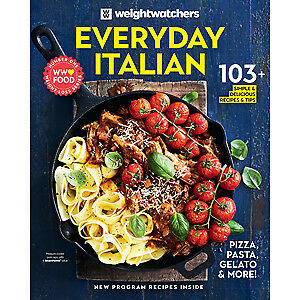 Weight Watchers: EVERYDAY ITALIAN, 103+ Recipes & Tips, Weight loss, Latest book