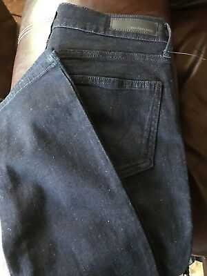 NEW CALVIN KLEIN Size 6 x 32 - womens ULTIMATE SKINNY Dark Rinse Blue JEANS