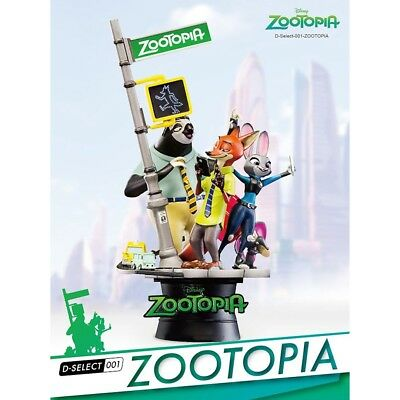 ZOOTOPIA D-Select Series DS-001 6-Inch PX Diorama Statue Previews Exclusive