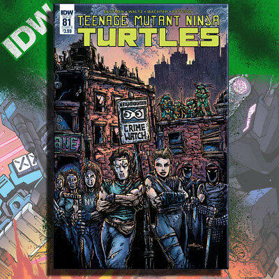 Teenage Mutant Ninja Turtles 81 B, Kevin Eastman, Tmnt - Idw Publishings