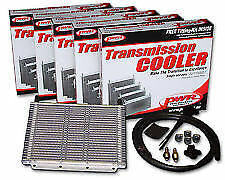 """PWR 6 CYL TRANSMISSION OIL COOLER KIT 280x150x19mm 3/8"""" Barbs 17-Rows PWO5387"""