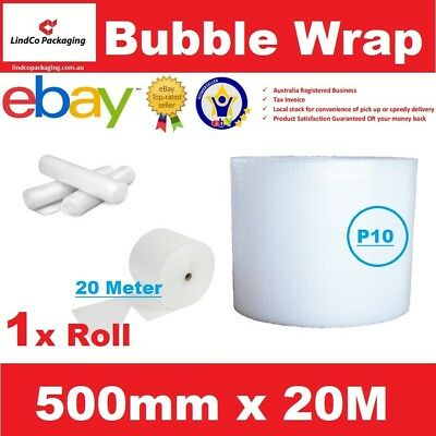 Clear Bubble Wrap Roll 500mm x 20m (meters) Sydney Pick Up Only