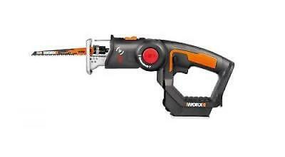 WORX WX550L.9 20V AXIS 2-in-1 Reciprocating Saw and Jigsaw with Orbital M... New