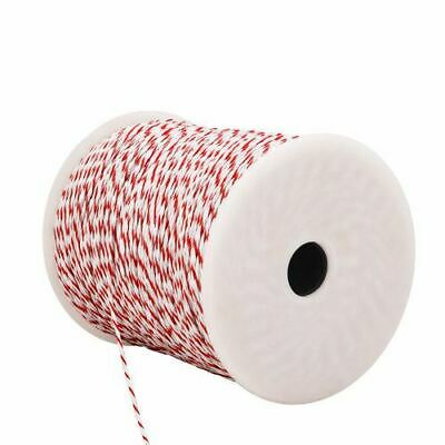 Giantz 500m Roll Electric Fence Energiser Poly Tape Wire Fencing Farm Supplies