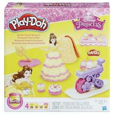 New Hasbro Play-Doh Disney Princess Be Our Guest Banquet B9406