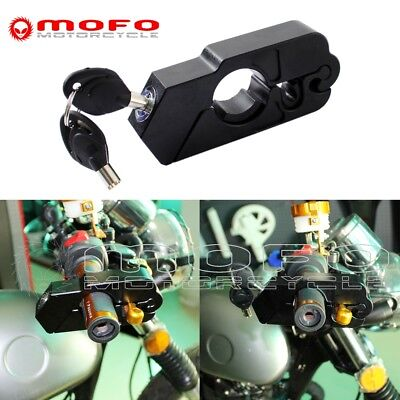 CNC Aluminum Motorcycle Handlebar Grips Throttle Security Lock For Suzuki GSXR