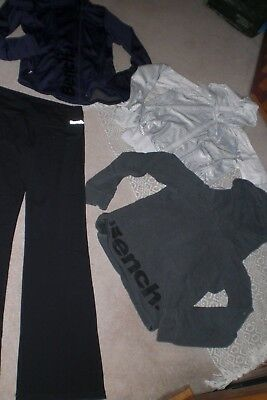 Lot of 2 Womans Bench Jackets, Gym Pants and 1 Pullover sz M