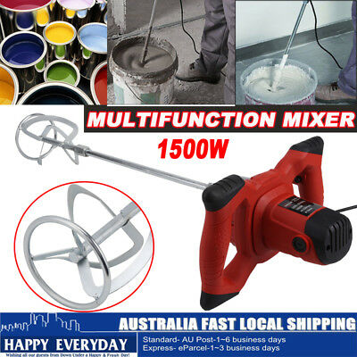 Six-speed Control Drywall Mortar Mixer Plaster Cement Tile Adhesive Render Paint
