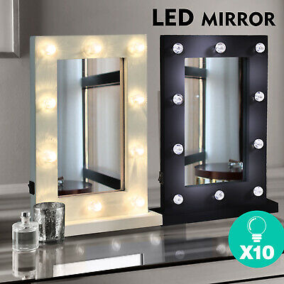 Hollywood LED Vanity Mirror Light Kit for Makeup Dressing Table,10 Bulbs