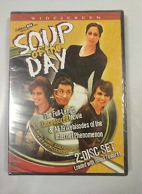 New! Soup Of The Day 2-Disc Dvd Set Uncensored Factory Sealed Free Shipping