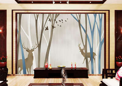 Lonely Deep Forest 3D Full Wall Mural Photo Wallpaper Printing Home Kids Decor