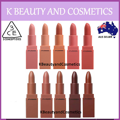 [3CE] Mood Recipe Lip Color 3.5g MATTE Lipstick Full Size 3 CONCEPT EYES