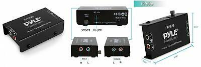 Pyle Phono Turntable Preamp - Mini Electronic Audio Stereo Phonograph...