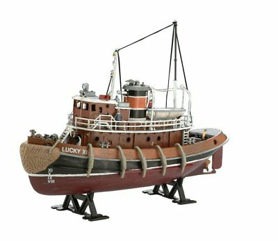 Revell 65207 1:108 Model Set Harbour Tug Boat