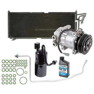 Brand New Complete A/C Kit W/ AC Compressor Condenser & Drier Fits Jeep Cherokee