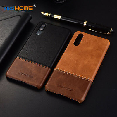 Genuine Leather Ultra Thin Case Shell Cover For Huawei P20 Mate 10 20 Lite Pro