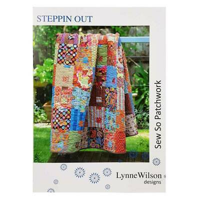 Steppin Out Quilt Pattern by Lynne Wilson Designs Quilting Sewing