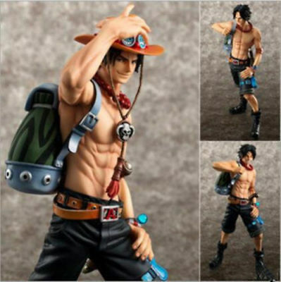 NEW Anime One Piece POP DX Portgas.D.Ace 10th Limitrd Ver. PVC Figure Toy Gift