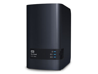 WD My Cloud EX2 Ultra, NAS-Server, USB 3, Ethernet, 2x 4 TB HDD