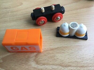 Brio Waggon Gas 3 tlg orange