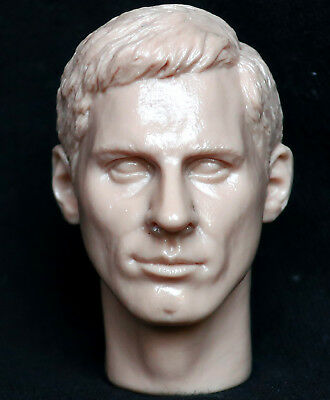 1/6 scale resin unpainted action figure head sculpt messi football world cup