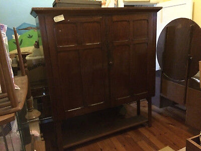 Vintage antique timber cabinet Department of Education Australian