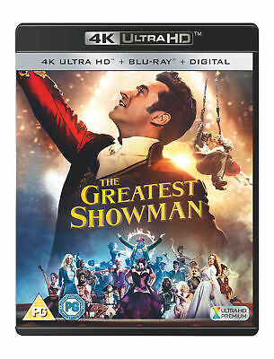 The Greatest Showman [2017] (4K UHD + Blu-ray + Digital Download)