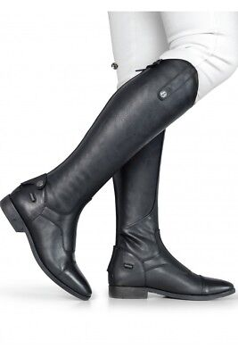 Brogini CASPERIA V2 Long Tall Leather Grip Strech Riding Boots Black/Brown 3-11