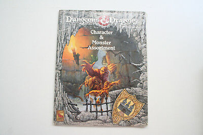 ROLLENSPIEL: DUNGEONS & DRAGONS: CHARACTER & MONSTER ASSORTMENT TSR 9363 OVP Ro3