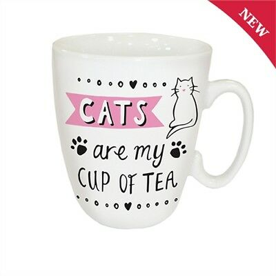 CATS ARE MY CUP OF TEA Mug FREE Gift Box