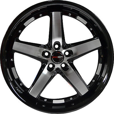 4 Gwg Wheels 18 Inch Black Machined Amaya Rims Fits Infiniti G35