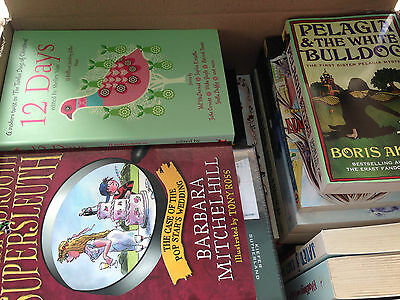 JOBLOT/WHOLESALE BOX NEW BOOKS JUST UNDER 10KG OF NEW FICTION BOOKS Bundle