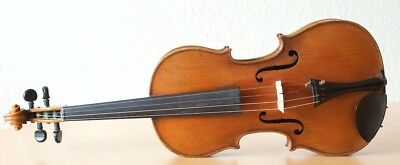 "Very old labelled Vintage violin ""Matthias Albani"" fiddle 小提琴 ヴァイオリン Geige"