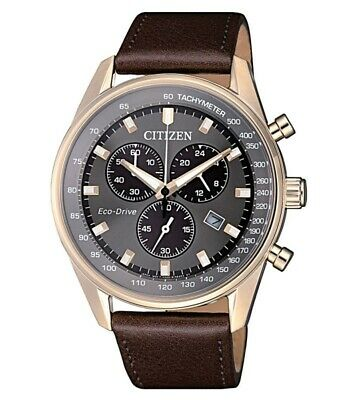 Citizen Chronograph Eco Drive Herrenuhr AT2393-17H AT2393-17H