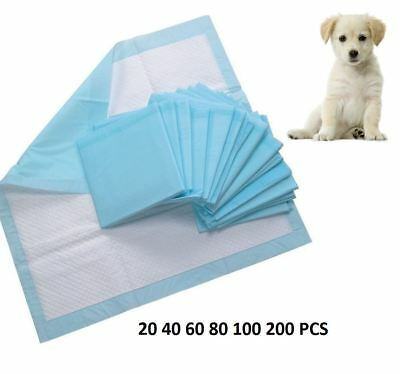 Puppy Training 60X40Cm Pads 20 40 60 80 100 200 Set Toilet Pee Wee Pet Dog Mats