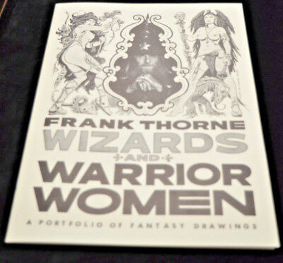 FRANK THORNE WIZARDS AND WARRIOR WOMEN Portfolio signed & numbered 403/1000