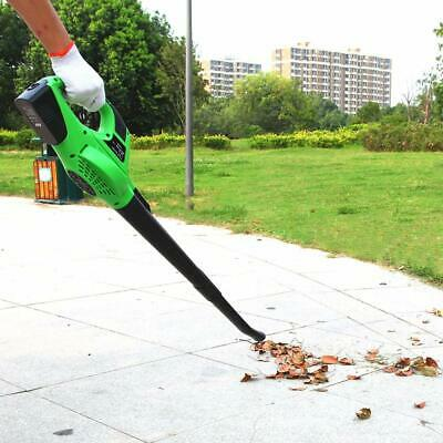 Electric 2 Speed Leaf Blower 20V Cordless Sweeper Cleaner Handheld with Battery